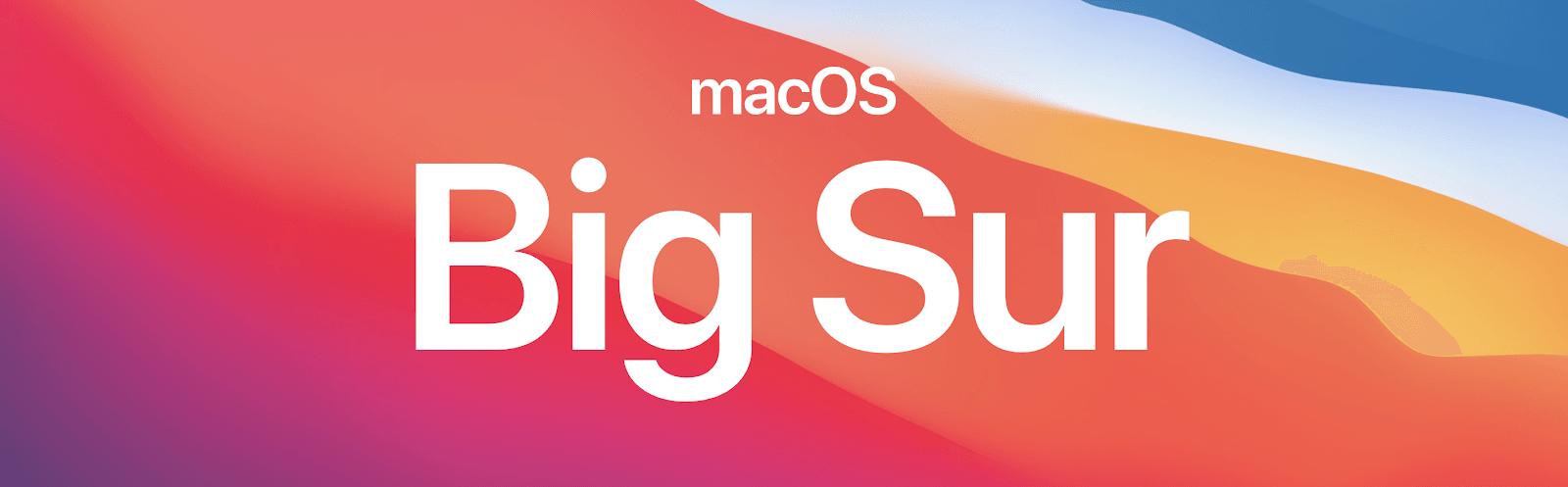 macOS BigSur