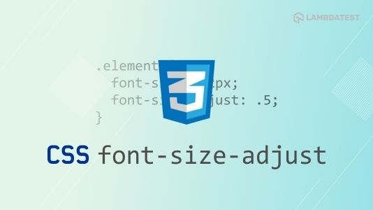 CSS font-size-adjust