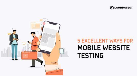 Mobile Website Testing