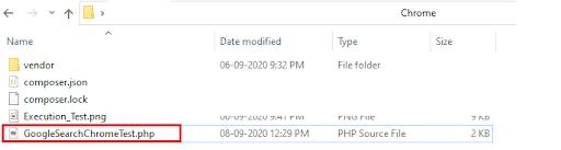 PHPUnit framework
