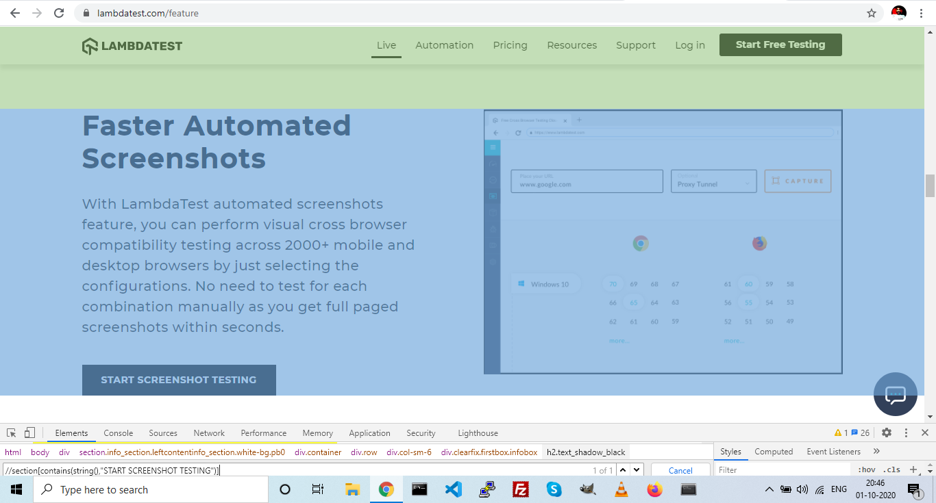 Automated Screenshots