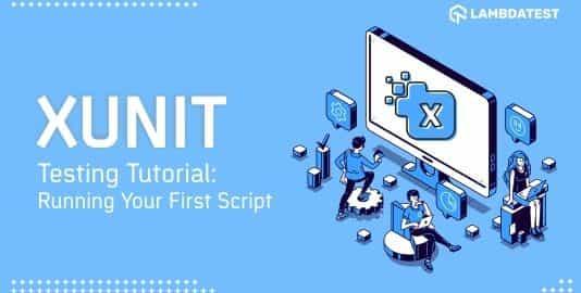 Xunit testing tutorial
