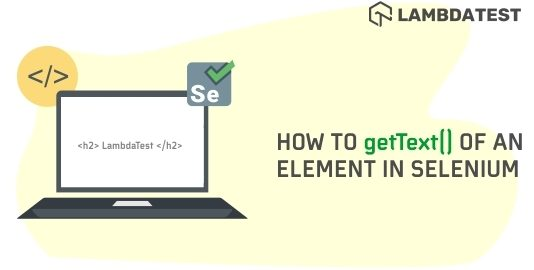 Element In Selenium