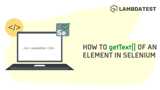 Element In Selenium
