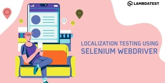 localisation using selenium