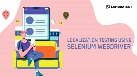 localisation using selenium