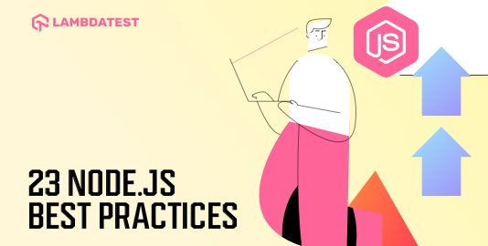 Node JS best practices
