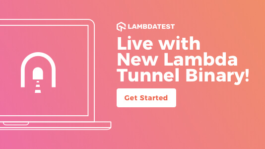 New Lambda Tunnel Binary For Better UI and Enhanced Security
