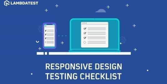 Responsive Web Design Testing Checklist