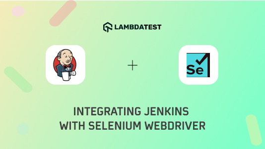 Jenkins integration with Selenium