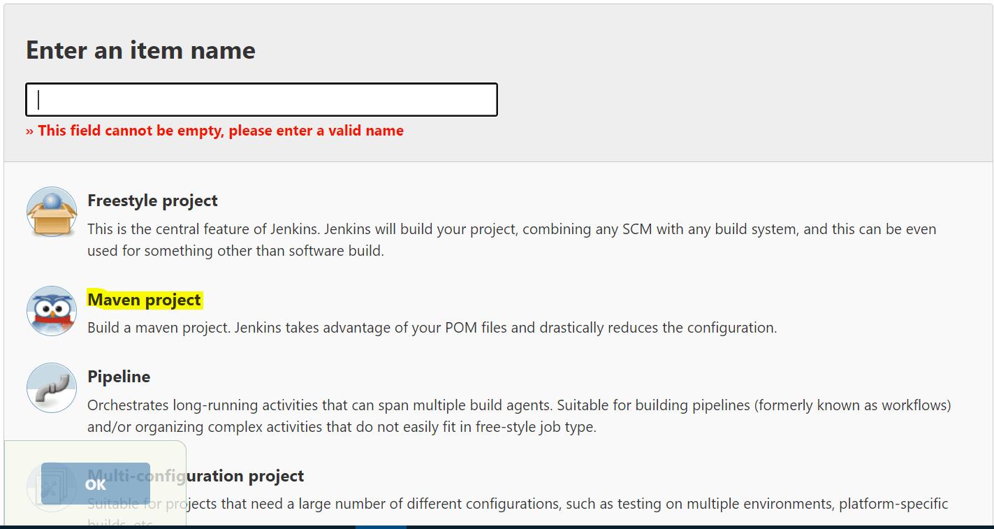 Adding Maven project