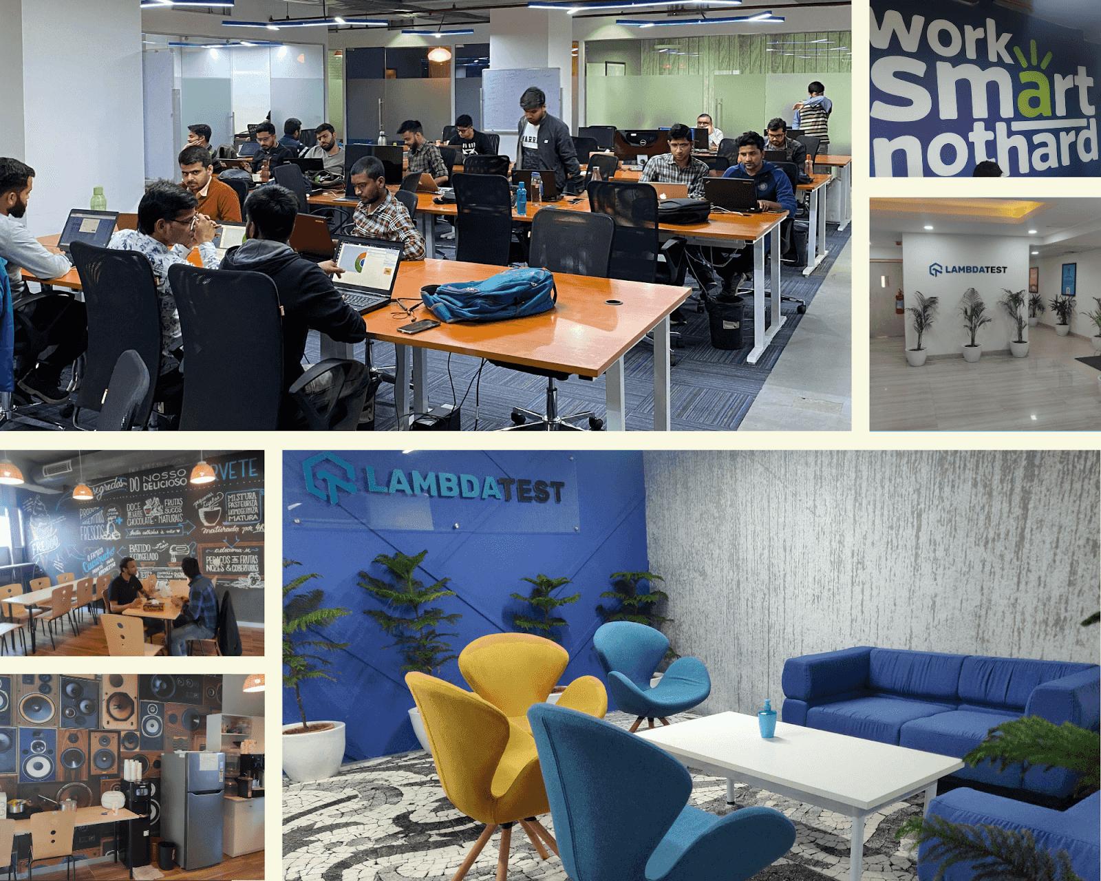 New Noida Office- LambdaTest