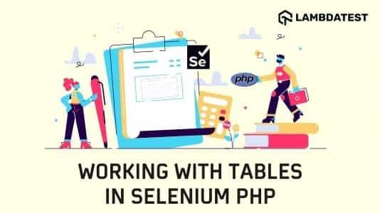Selenium In PHP