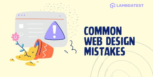 Web Design Mistakes To Avoid