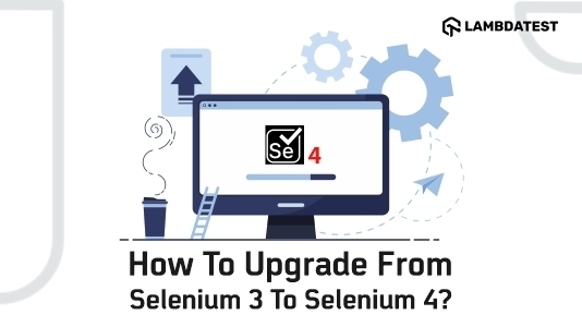 how to upgrade from selenium 3-4