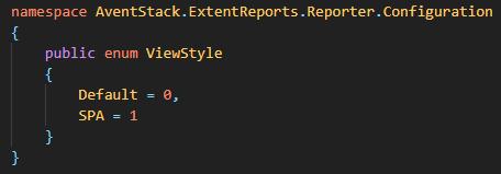 NUnit reporter configurations