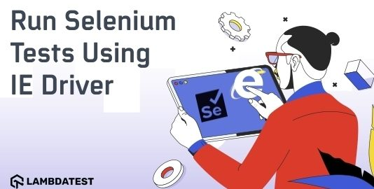 run selenium test using IE driver