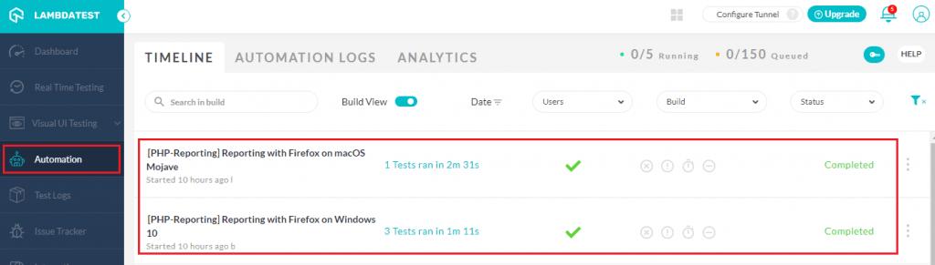 lambdatest automation testing