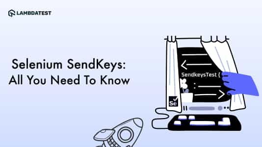 Selenium SendKeys