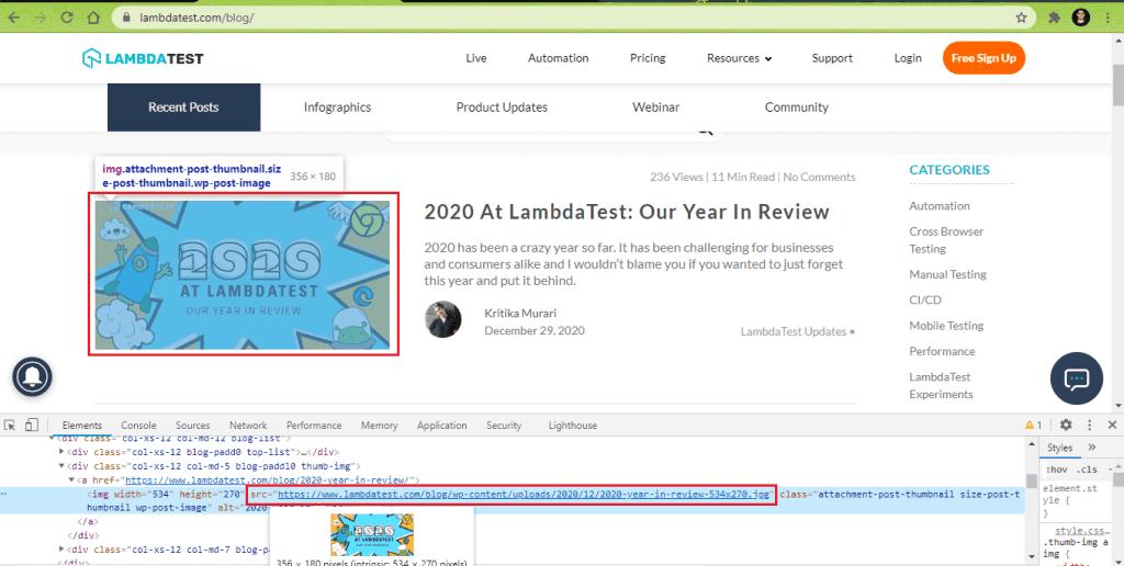 LambdaTest blog