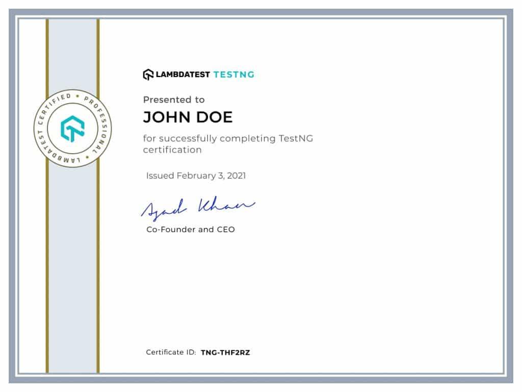 lambdatest-certificate-testng
