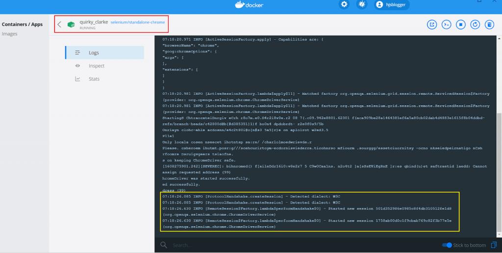 Chrome Docker