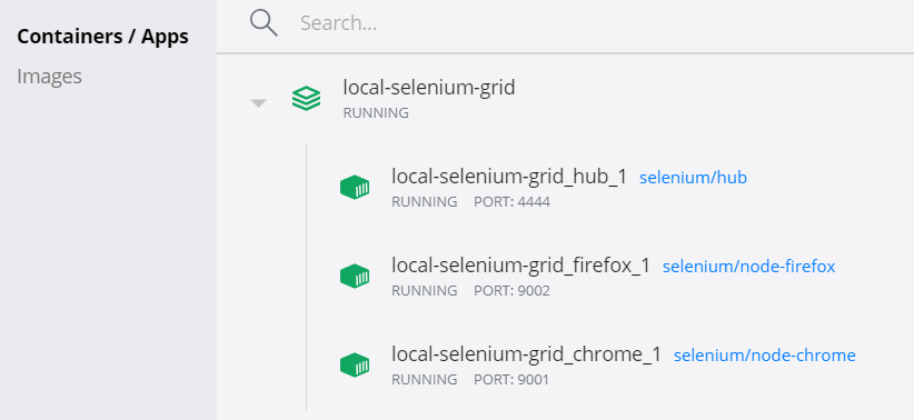 Chrome nodes