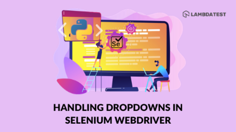Handle Dropdowns In Selenium WebDriver using Python