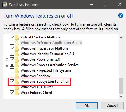 Windows Subsystem