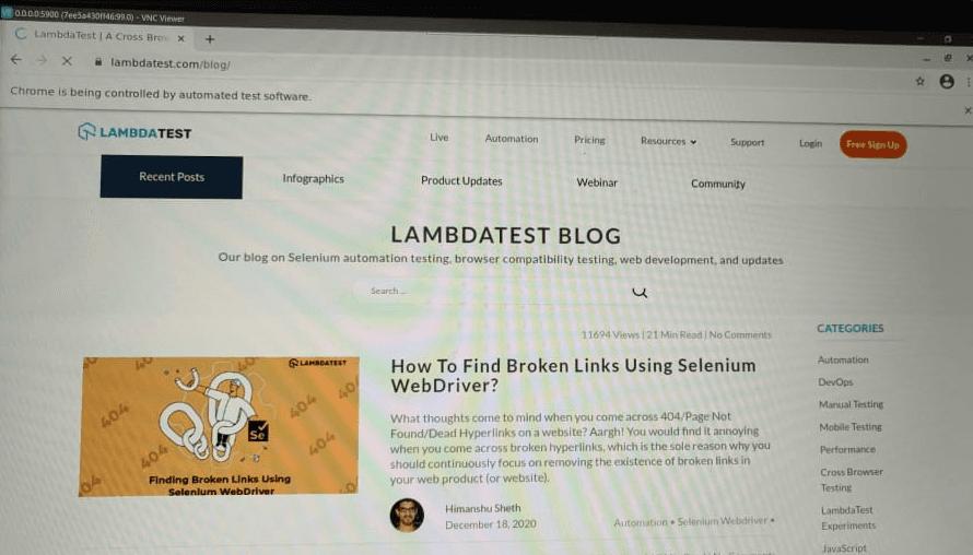 lambdatest blogs