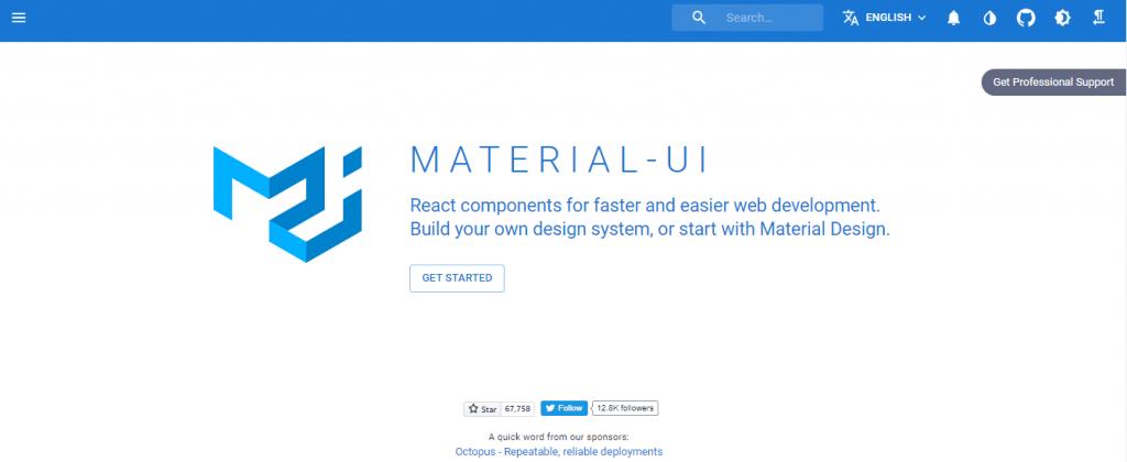 Material UI React