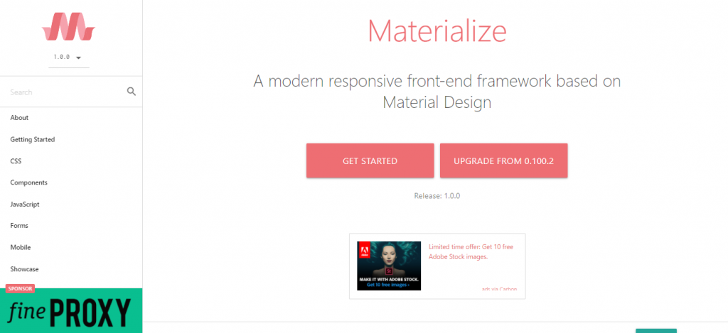 Materialize CSS