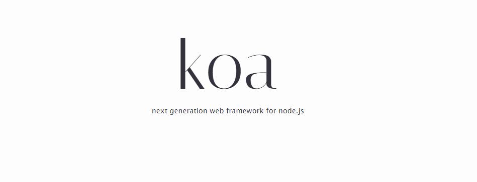 koa framework