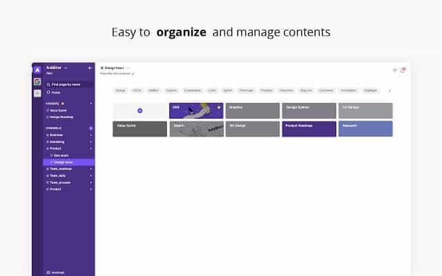 Highlight & organize into notes