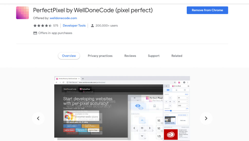 PerfectPixel by WellDoneCode