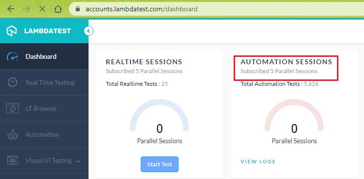 cypress testing with lambdatest