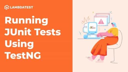 JUnit Test Using TestNG