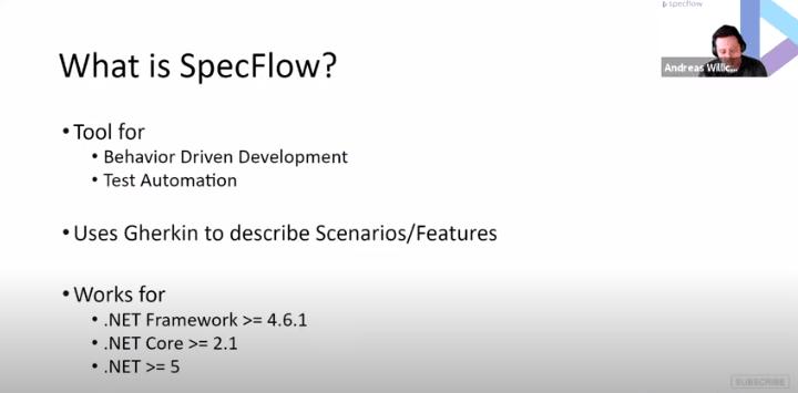 SpecFlow Webinar