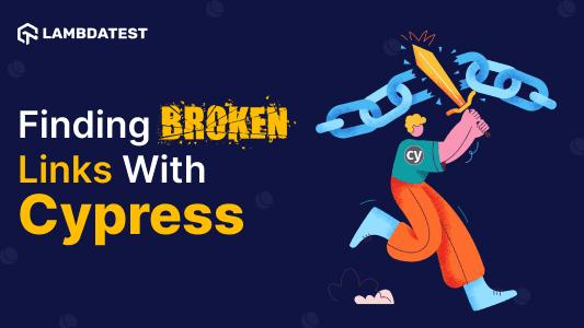 Broken links with Cypress
