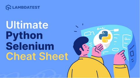Selenium Python cheat sheet
