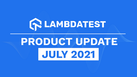 product update july 2021