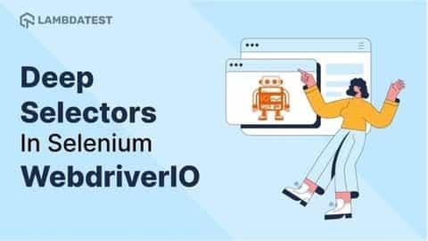Selectors In Selenium WebdriverIO