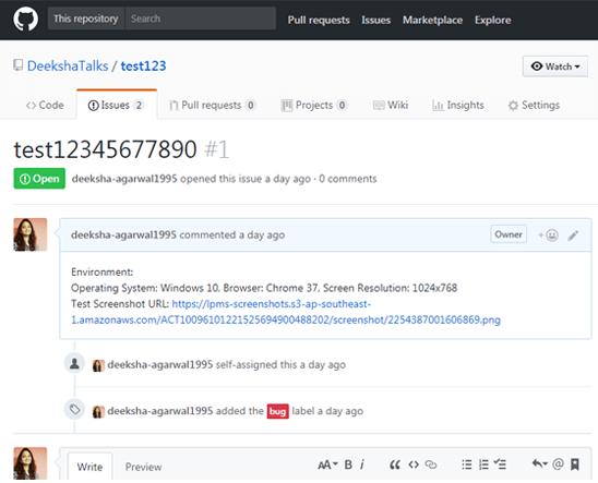 LambdaTest Github integration