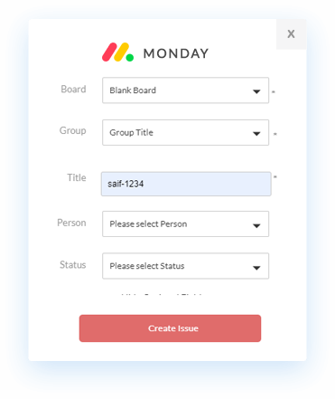 LambdaTest Monday.com integration
