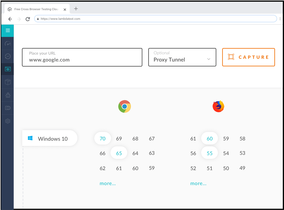 Automated screenshot testing