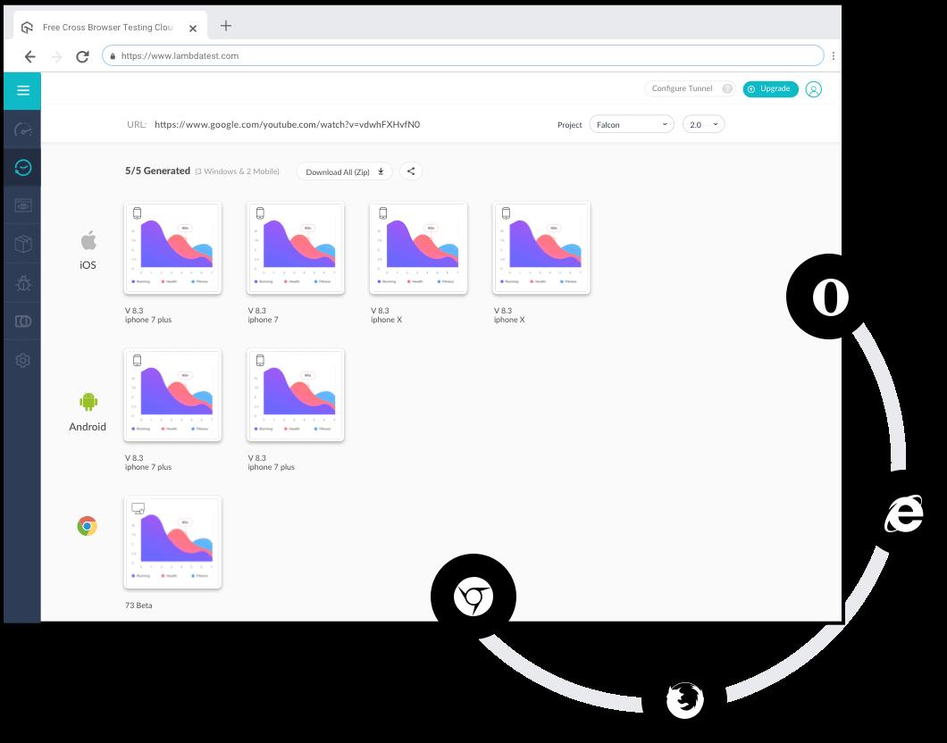 screenshot comparison testing
