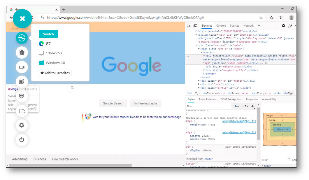 Debugging Tools In Microsoft Edge