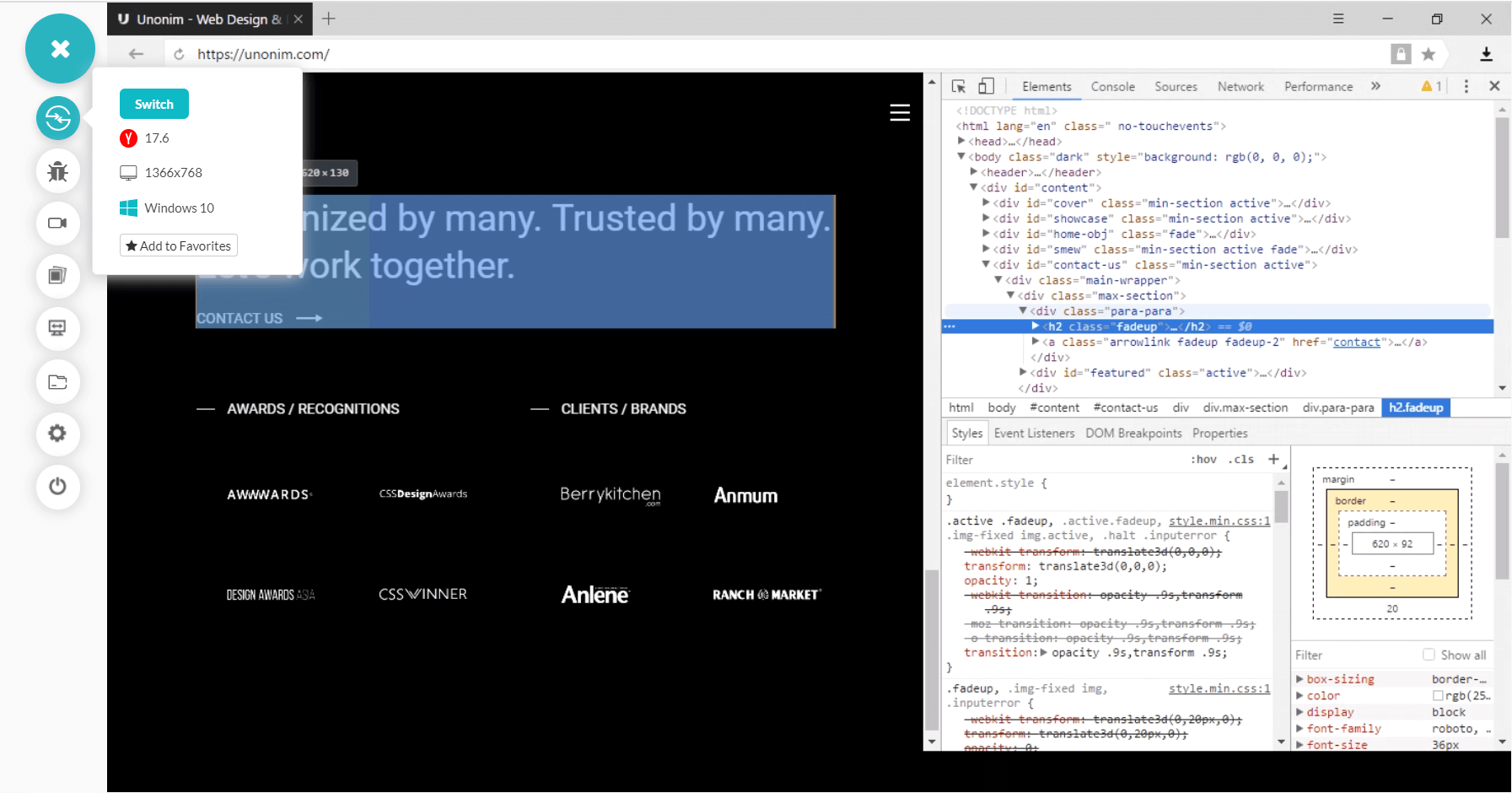 cross browser testing on Opera Browsers