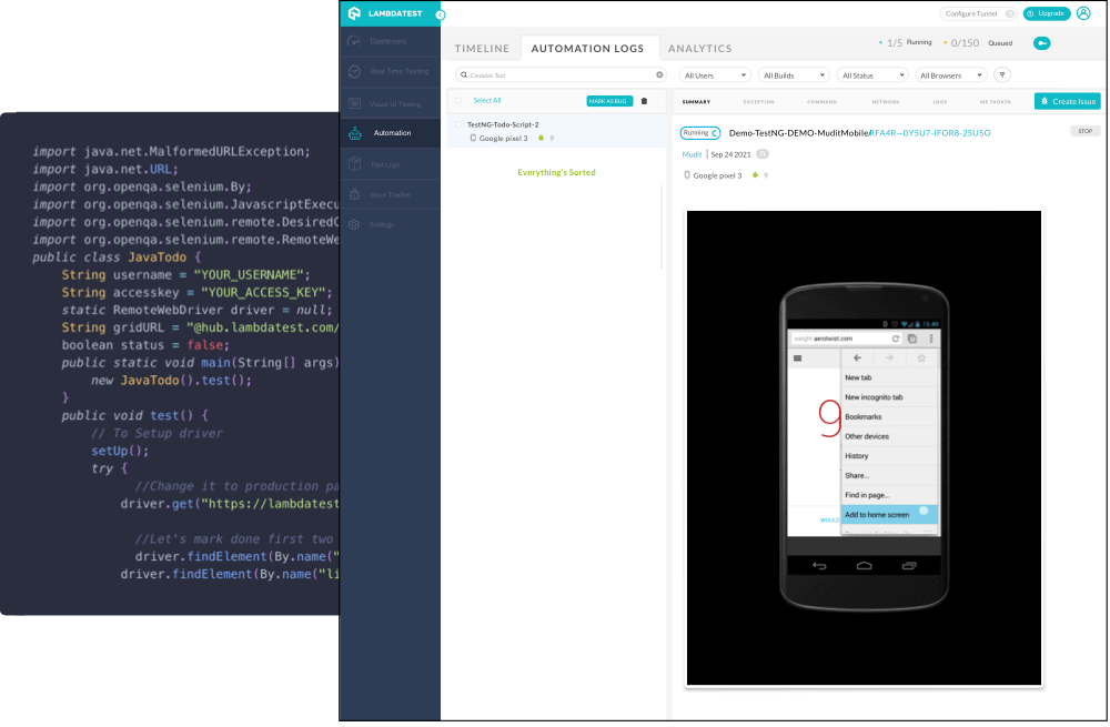 mobile-test-automation