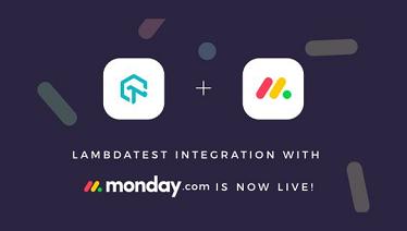 LambdaTest Integration With Monday